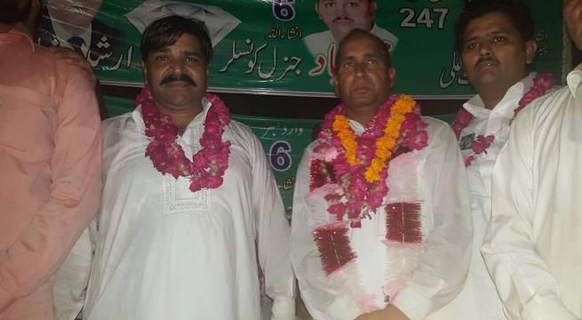 Mohammad Sajjad addressed Corner Meeting