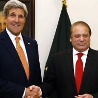 Nawaz Sharif And John Kerry Met