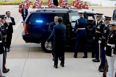 Nawaz Sharif, Pentagon Visit