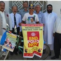 Niaz Chachar Pakistan Polio Committee members With Irfan Shahwani