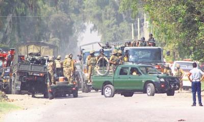 Terrorists Attack Pakistan Air Force Base In Peshawar
