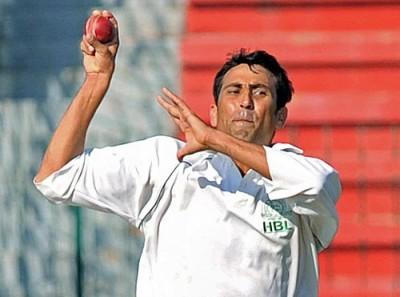Younis Khan Bowling
