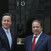David Cameron And Nawaz Sharif