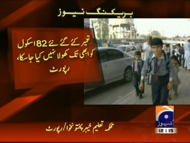 Education Department,Report Released– Breaking News – Geo