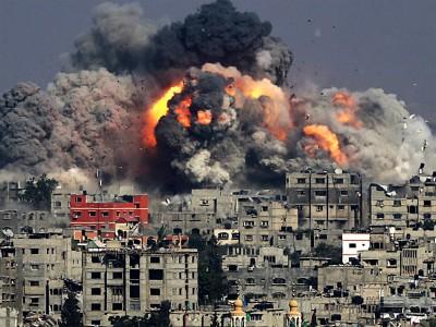 Israeli bombardment