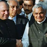 Nawaz Sharif And Vajpayee