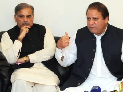 Nawaz Sharif and Shahbaz Sharif