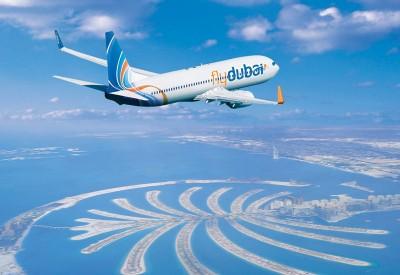 Plane Flying from Dubai