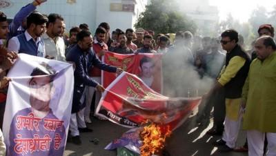 Sena Leader Offers Rs 1 Lakh To slap Aamir