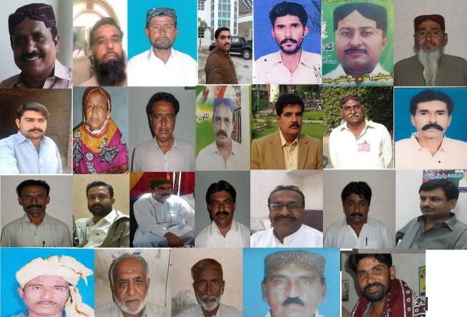 Talhar Town Committee k General Umedwaron Ki Tasweer