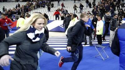 Terror in Paris Stade de France