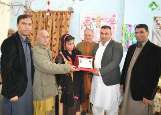 Alfalah Jhelum Arranged Quaid Day Ceremony