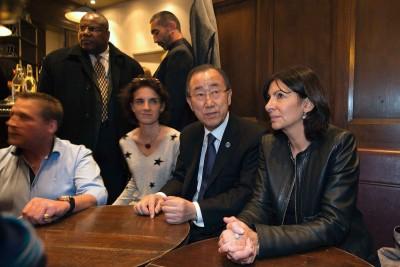 Ban Ki-moon and Madame Anne hdalgu