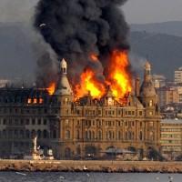 Brazil Railway Station Fire