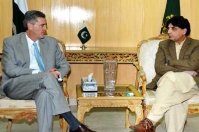 Chaudhry Nisar, Richard Olson, Meeting