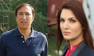 Dr. Ijaz Khan and Reham Khan