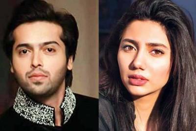 Fahad Mustafa and Mahira Khan