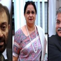 Farooq Sattar Waseem Akhtar And Nasreen Jalil,