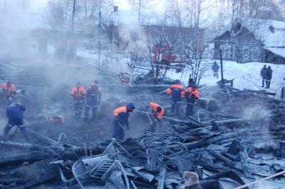 Hospital Fire Moscow
