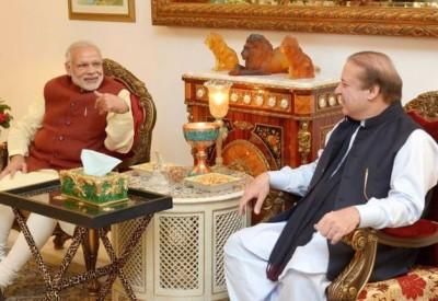 Modi And Nawaz Meet