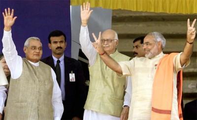 Narendra Modi and Vajpayee