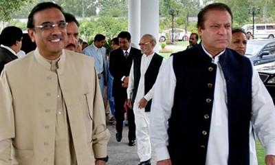 PM Nawaz And Zardari