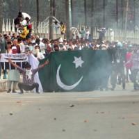 Pakistan Flag Srinagar