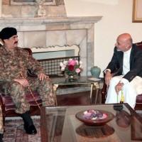 Raheel Sharif with Ashraf Ghani