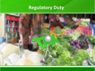 Regulatory Duties