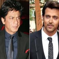 Shah Rukh And Hrithik Roshan