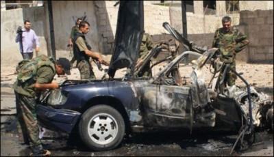 Syria Hams Blast