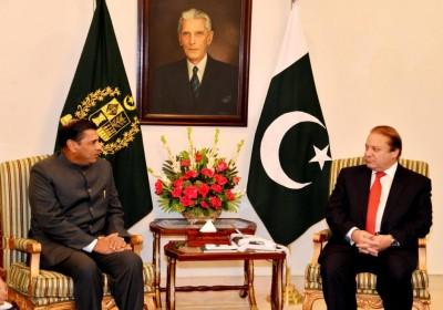 T.C.A. Raghavan and Nawaz Sharif Met
