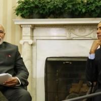 US Presiden And Modi