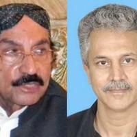 Wasim Akhtar and Qaim Ali Shah