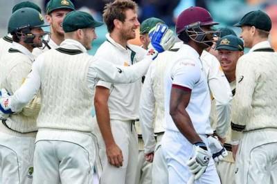 West Indies, Australia Test Match