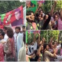 karachi Polling Station Tension
