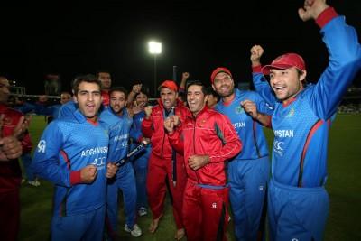 Afghanistan players