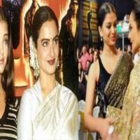 Aishwarya and Rekha