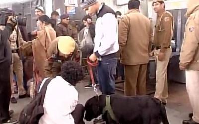 Bomb Scare at New Delhi Railway Station