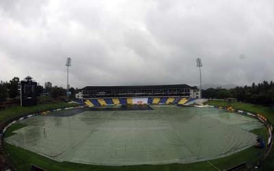 Cricket Stadium Rain