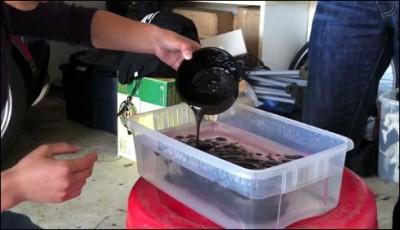 Fake Oil Produced