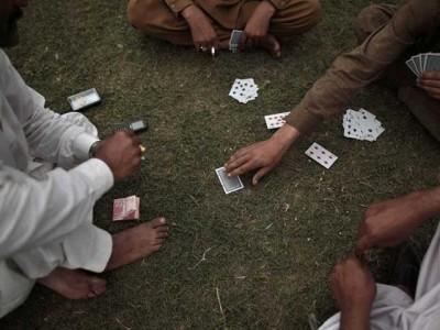 Gambling Arrested
