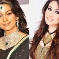 Johi Chawla and Reema