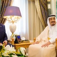 John Kerry and Saudi King Salman