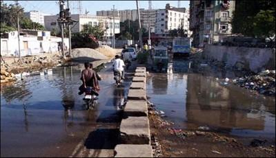 Karach iMetropolitan Sewrage Garbage