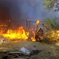 Karachi Huts Fire