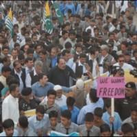Kashmiri Protest Rally