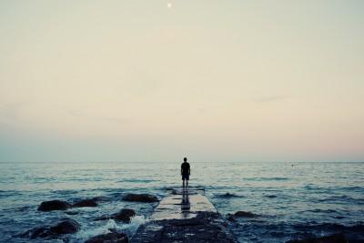 Man Near Water
