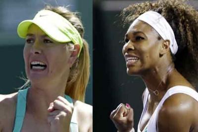 Maria Shira Sharipova and Serena Williams