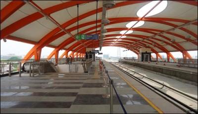 Metro Orange Line, Train Track
